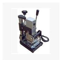 1 pcs Máquina de Hot Stamping Para PVC Cartão de Sócio Do Clube Da Folha de Carimbo Quente da Máquina De Bronzeamento