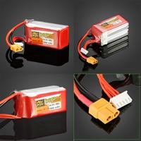 1pcs ZOP Power 14 8V 1500mAh 4S 45C Lipo Battery XT60 Plug For RC Drone Models