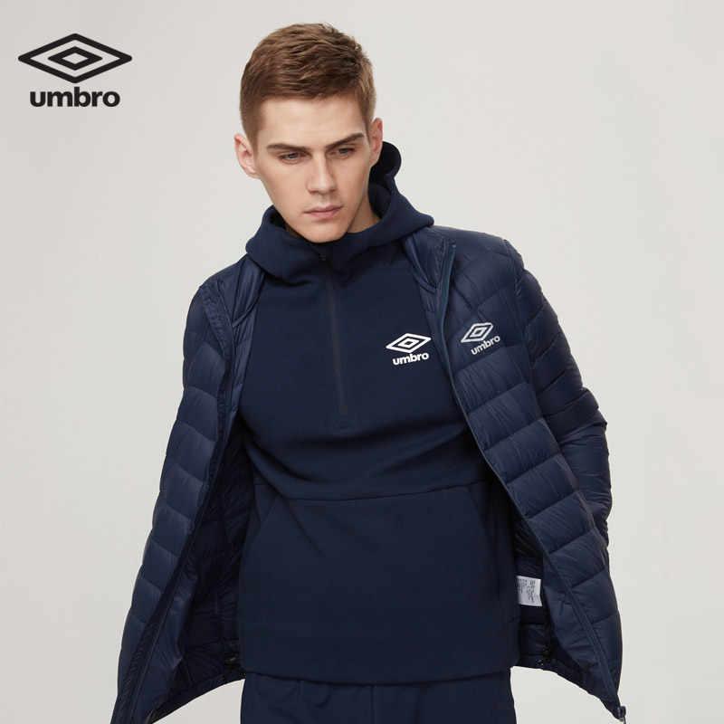 Umbro Новая зимняя мужская стеганая куртка для отдыха теплая удобная короткая спортивная одежда UO174AP2003