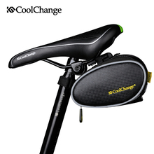 2017 CoolChange Waterproof Mountain Road Bicycle Tail Bag Saddle Bag Bike Pouch Cycling Seat Bag