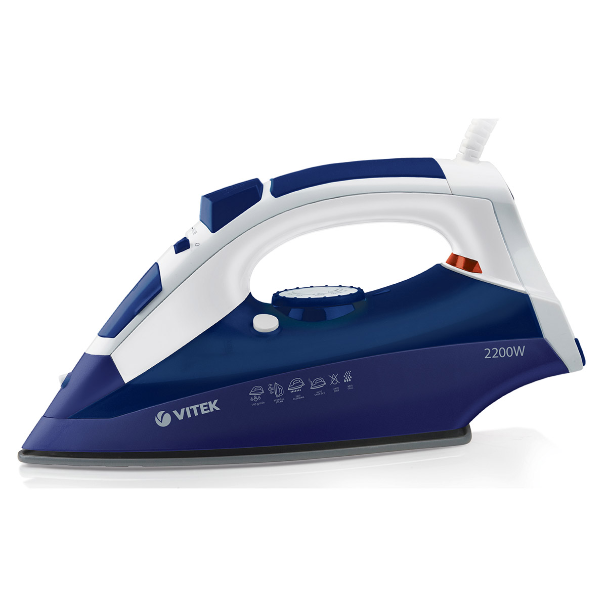 Steam iron VITEK VT-1245P iron vitek vt 1215 iron steam generator iron for ironing irons steam iron electriciron