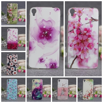 Luxury 3D Releif Printing Cover Case For Alcatel One Touch idol3 5.5 OT-6045 6045Y 6045K Cases Protective Bag Soft TPU Cover image