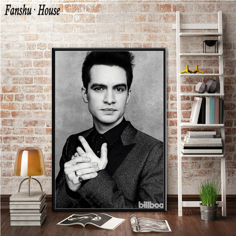 Panic at the Disco poster wall decoration photo print 24x24 inches