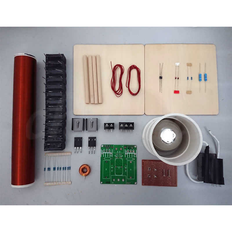 Detail Feedback Questions about Spark gap Tesla coil kit DIY