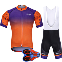 2018 Cycle Jersey Set Mtb Jersey Touring Bike Pro Team Bike Clothing Bike Men Bicycle Clothes Ropa Ciclismo Hombre Cycling Kit цена