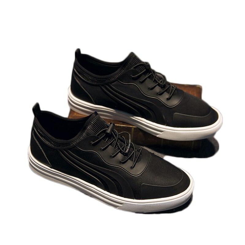 Printemps automne Style résistant hommes chaussures décontractées respirables confortables Zapatillas Hombre chaussures couleur noire