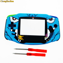 Cartoon Limited Edition Full Housing Shell replacement for Nintendo Gameboy Advance for GBA Game Console Cover Case Repair parts стоимость