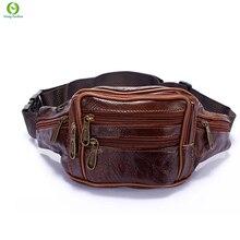 Mode En Cuir Multifonction sac de taille, femmes et hommes poche sac d'argent ceinture, pochete sac, poche de service, bolsa cintura