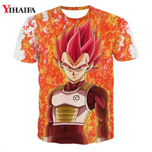 3D T shirt Dragon Ball Z Print Anime Vegeta Goku Casual Tee Shirts Fashion Men Tops Graphic Tees dragon ball t