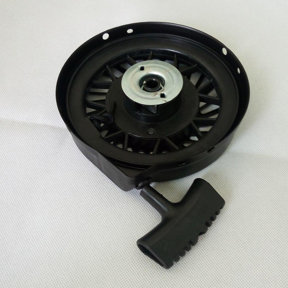 Recoil Starter Pull Start Assembly for 590702 590739 590637 Tecumseh LV195EA LEV80 LEV115 LEV120 g200 recoil starter for honda g150 gv150 gv200 4hp 6 5hp steel ratchet rewind pull start handle rope assembly