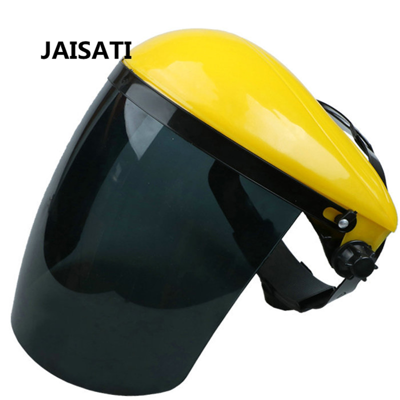 JAISATI Welding mask automatic welding anti-baking face anti-UV glasses protective  mask transparent lens anti uv anti shock welding helmet face shield solder mask face eye protect shield anti shock