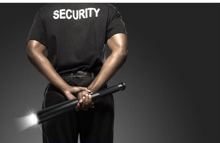 Self Defense Baseball Flashlight Stick Outdoors Emergency Personal Defense Supplies Extended Baseball Bat Anti Riot Equipment (2)