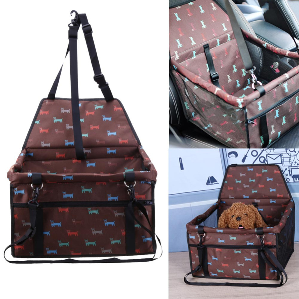 Folding Pet Dog Bag Carrier Cat Carring Pet Car Seat Cover Waterproof Travel Bag For Small Dog Puppy Cats Carrying Dog Products #5