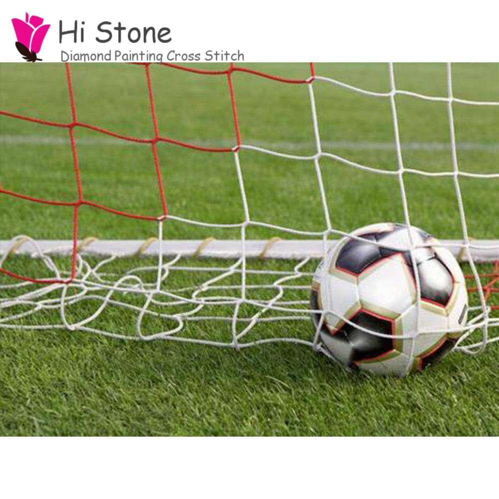 5d поделки алмазов картина футбол алмаз живопись полный площадь поперечного стежка Алмаз Вышивка Мозаика хрустальные украшения, подарки