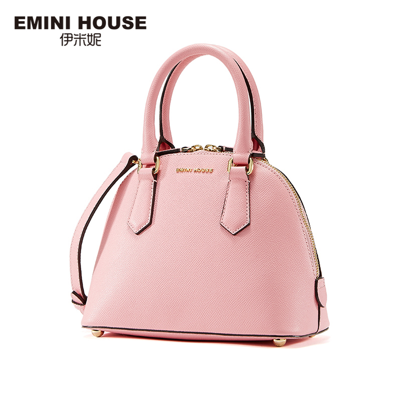 EMINI HOUSE 2016 Summer Fashion Shell Bag Split Leather Women Shoulder Bags Luxury Handbag Crossbody Bag Women Messenger Bags серьги fashion house даниэлла цвет серебряный белый