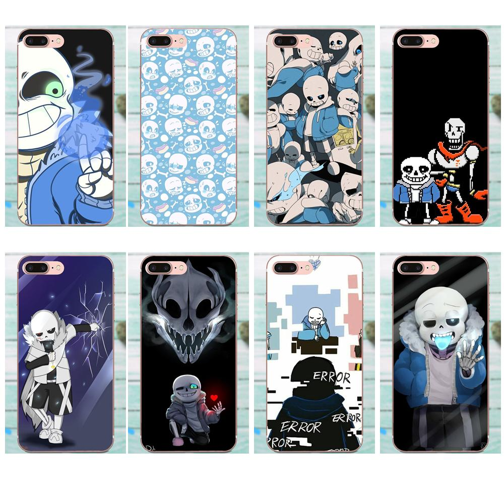 TPU Bags Cases For Galaxy J1 J2 J3 J330 J4 J5 J6 J7 J730 J8 2015 2016 2017 2018 mini Pro Design Game Undertale Sans Poster image