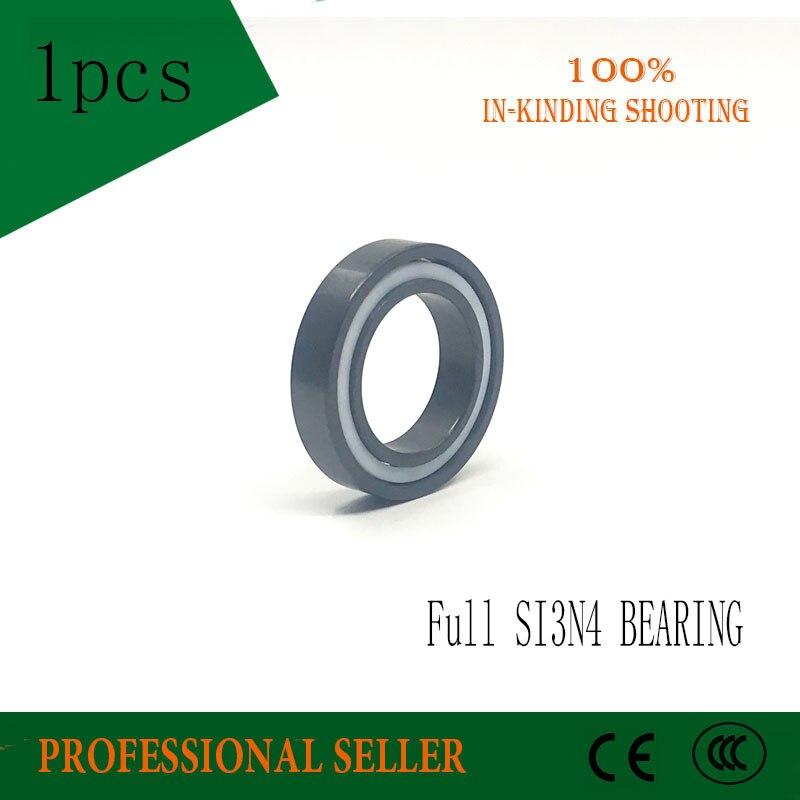 Free shipping 6804 full SI3N4 ceramic deep groove ball bearing 20x32x7mm цена и фото