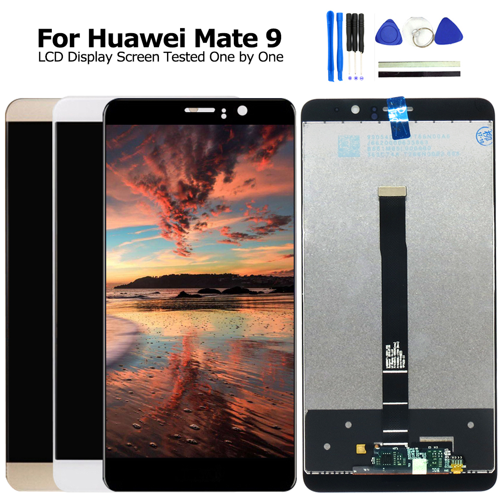 100% New For Huawei Mate 9 LCD Display + Touch Screen Replacement 5.9inch Mate9 Mate 9 Mobile Phone Parts With Free Tools100% New For Huawei Mate 9 LCD Display + Touch Screen Replacement 5.9inch Mate9 Mate 9 Mobile Phone Parts With Free Tools