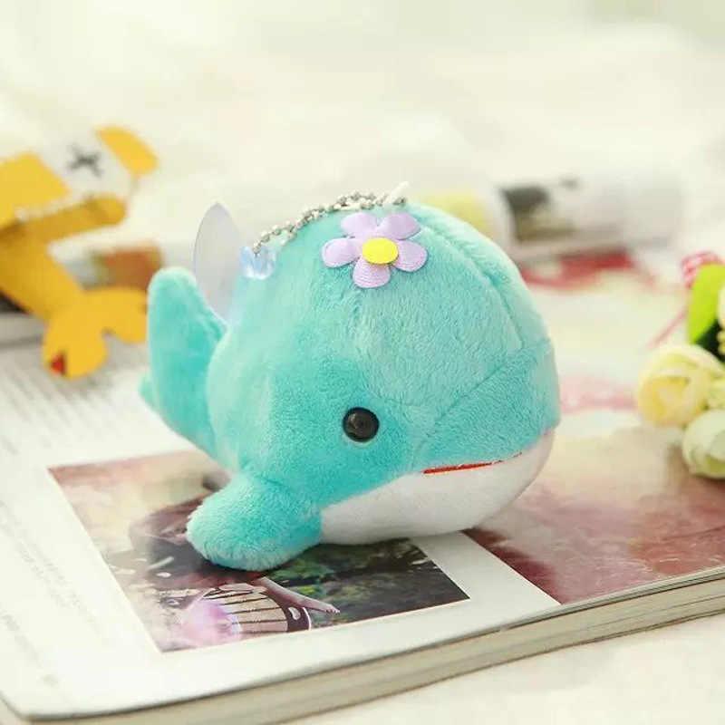 12 CENTIMETRI Piccolo Ciondolo Bambola Della Peluche Carino Delfino di Bambino Auto Giocattolo Piccolo Regalo Dei Monili Piccola Balena Bambola