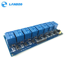 Free shipping 5V 8-Channel Relay Module Board PIC AVR MCU DS