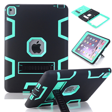 WeFor Case For iPad Pro 9.7″/12.9″ Cover High Impact Resistant Hybrid Three Layer Heavy Duty Armor Defender Full Body Protector