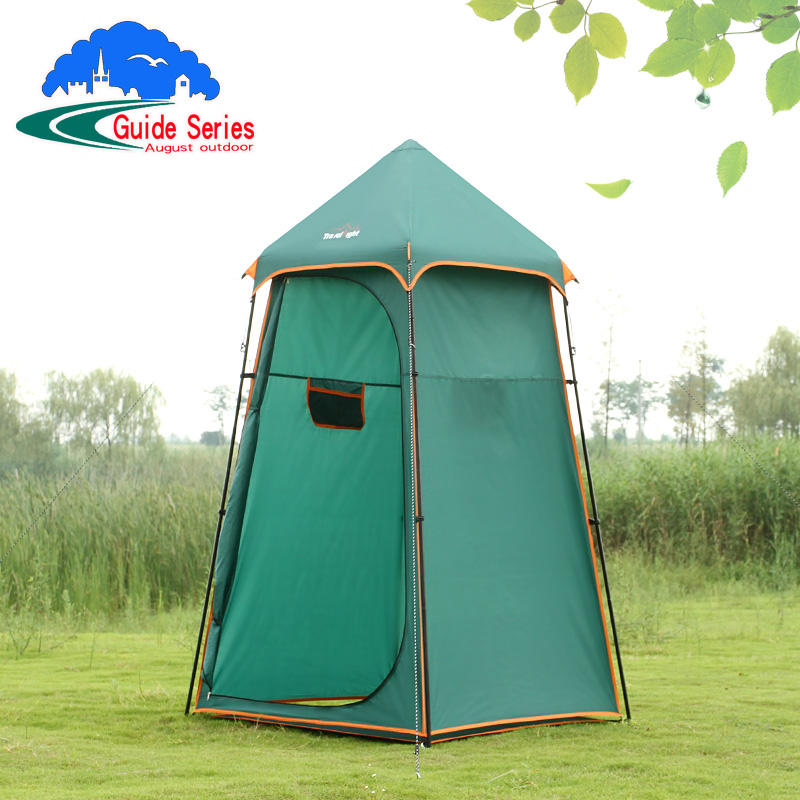 Outdoor Portable Shower Bath Tents Changing Fitting Room Tent Shelter Camping Beach Privacy Toilet Tent with