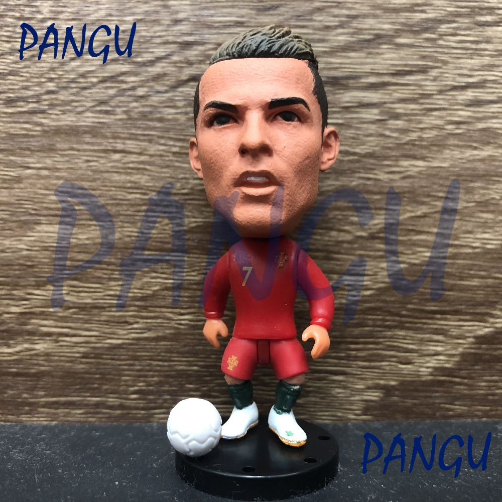 Soccerwe dolls figurine Sports stars C RONALDO #7 2019 Movable joints resin model toy action figure collectible gift