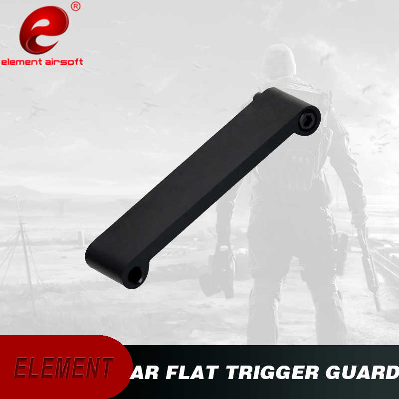Element Airsoft Trigger Guard MOE Black EX256 Aeg Toy Part