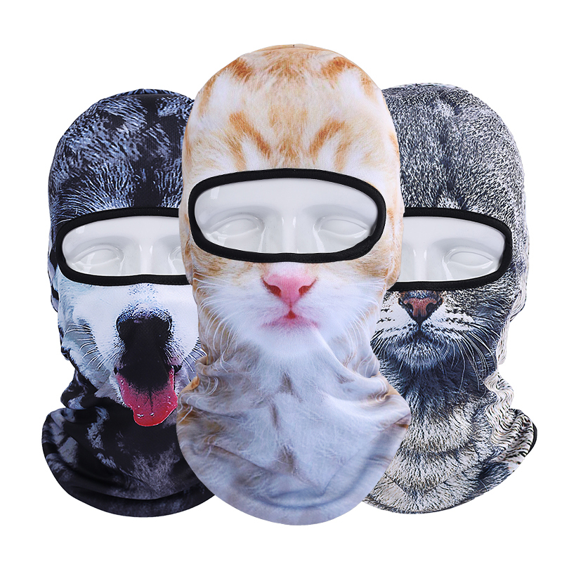 2017 New Cycling Face Masks Pet Avatar Outdoor Windproof Bicycle
