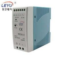 LEYU marki MDR-60 serii na szynę Din 60 W 12 V przemysłowe pojedyncze wyjście zasilania