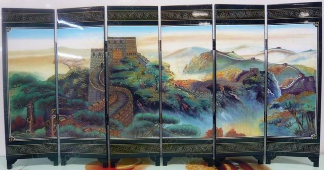 Free shipping an Ancient Screen The Great Wall of China Chinese type brithday friends gift present & Free shipping an Ancient Screen The Great Wall of China Chinese type ...
