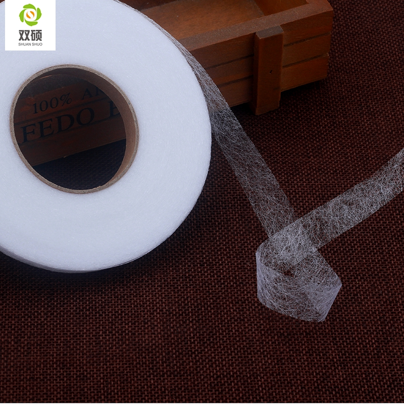 Diy Accessories Cloth  The Patchwork Lining Fabric  Double Faced Adhesive Fabric  Need To Use Electric Iron 70 Yards / Disk #2