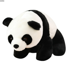 1Pcs Baby Kawaii Panda Plush Toy Realistic Animal Toys for Children Girl Boy Gift Kid Stuffed Plush Toy Adult Doll Birthday Gift 18cm 12pcs lot twelve zodiac panda super quality kawaii soft toy baby toy collectible gift wedding gift kids toys