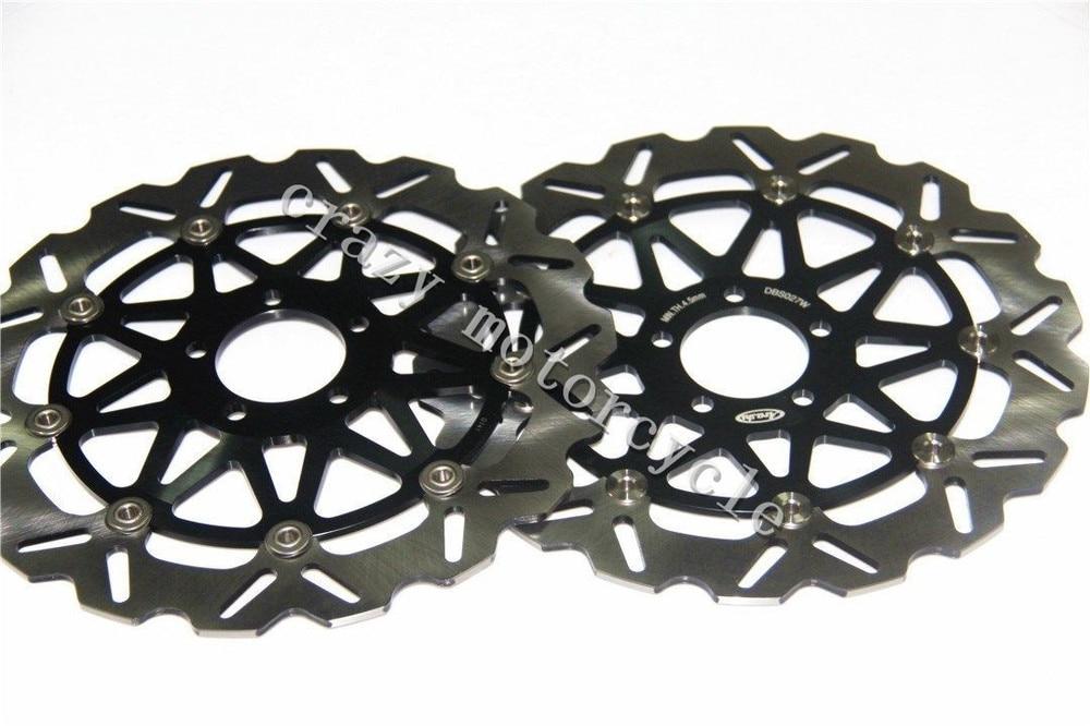 Free shipping moto Brake Rotor Disc For KAWASAKI ZX9R NINJA 900 94-97 02-03 ZZR1100 93-99 ZX12R NINJA 1200 00-03 ZZR1200 02-05