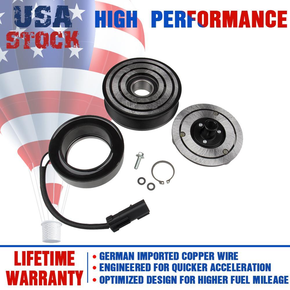 A//C AC Compressor Clutch Assembly Fit Dodge Ram 2500 3500 4500 5.9L 6.7L Diesel