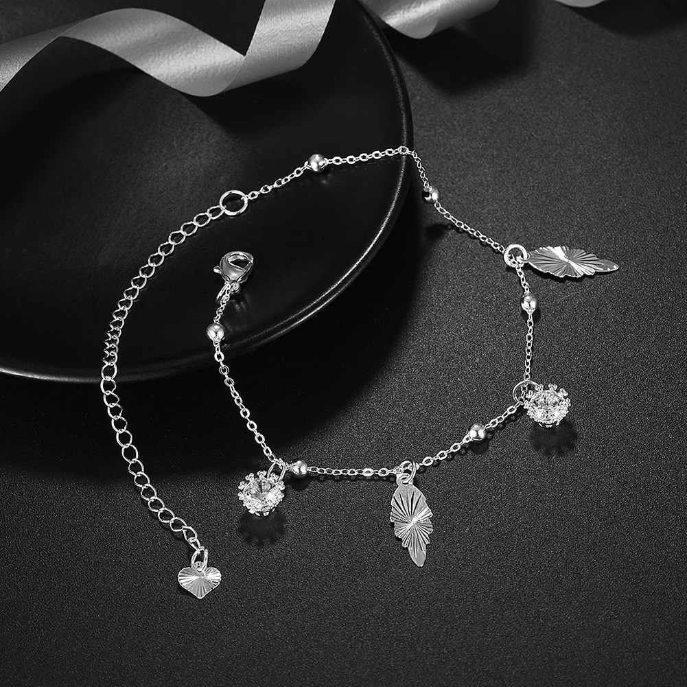 New Arrival Silver Plated Anklet for Women Foot Chain New Design Christmas Gift Low Price