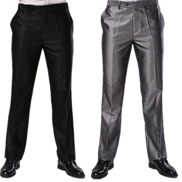 c33c11962b Men Trousers Two Colors Formal Business Dress Pants Big Sizes Slim Fit  Brand Design Long Skinny Trousers CBJ-F1317