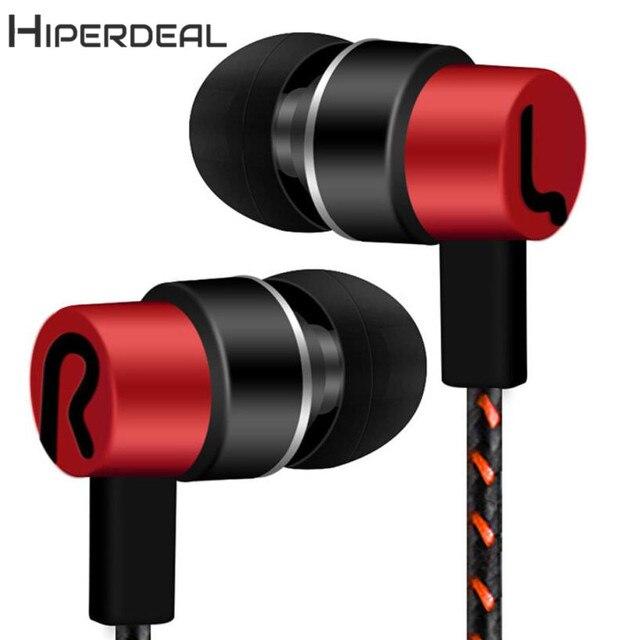 HIPERDEAL New Phổ 3.5mm In-Ear Stereo Tai Nghe Tai Nghe Cho Điện Thoại Di Động 18Jan24 Drop Ship