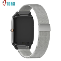 Excellent Quality 22mm Milanese Watchband For ASUS ZenWatch 2 Women Mesh Stainless Steel Band Metal Strap