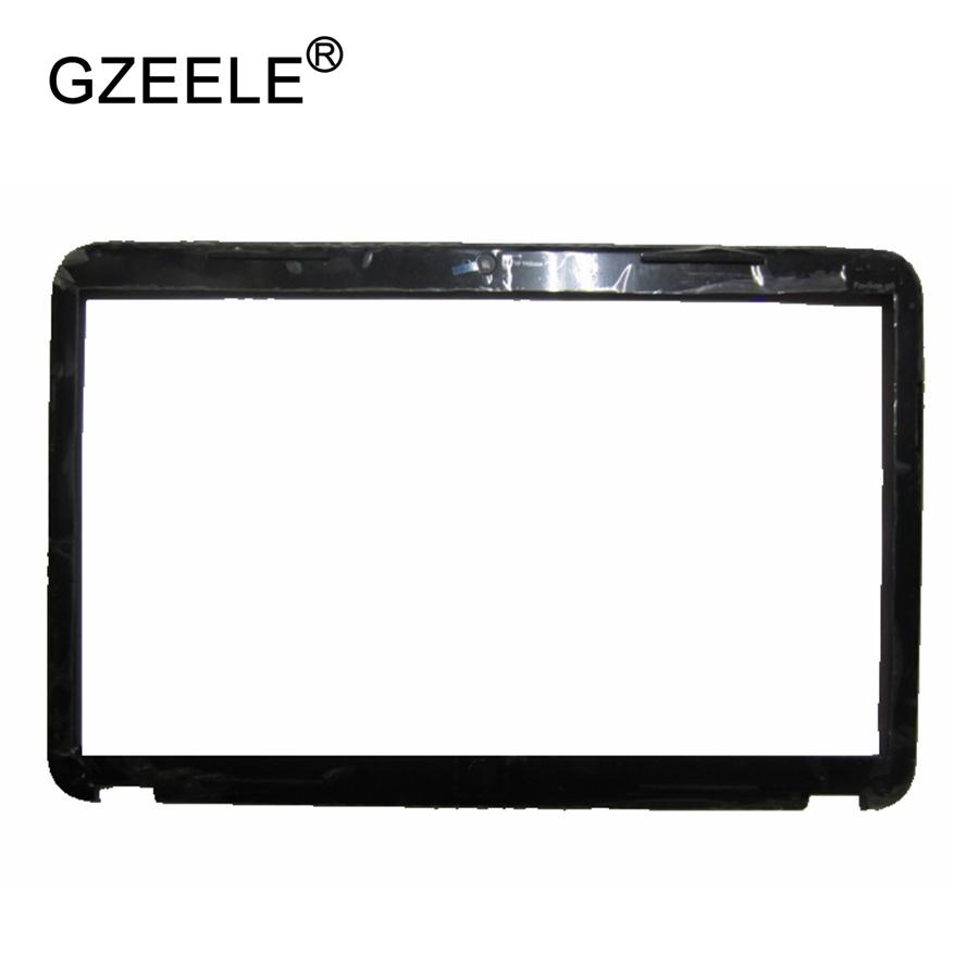 GZEELE New For HP For Pavilion G6-2000 Lcd Front Bezel Cover 2328tx 2233 2301ax2313 684165-001 JTE38R36TP003 Display Bezel Case
