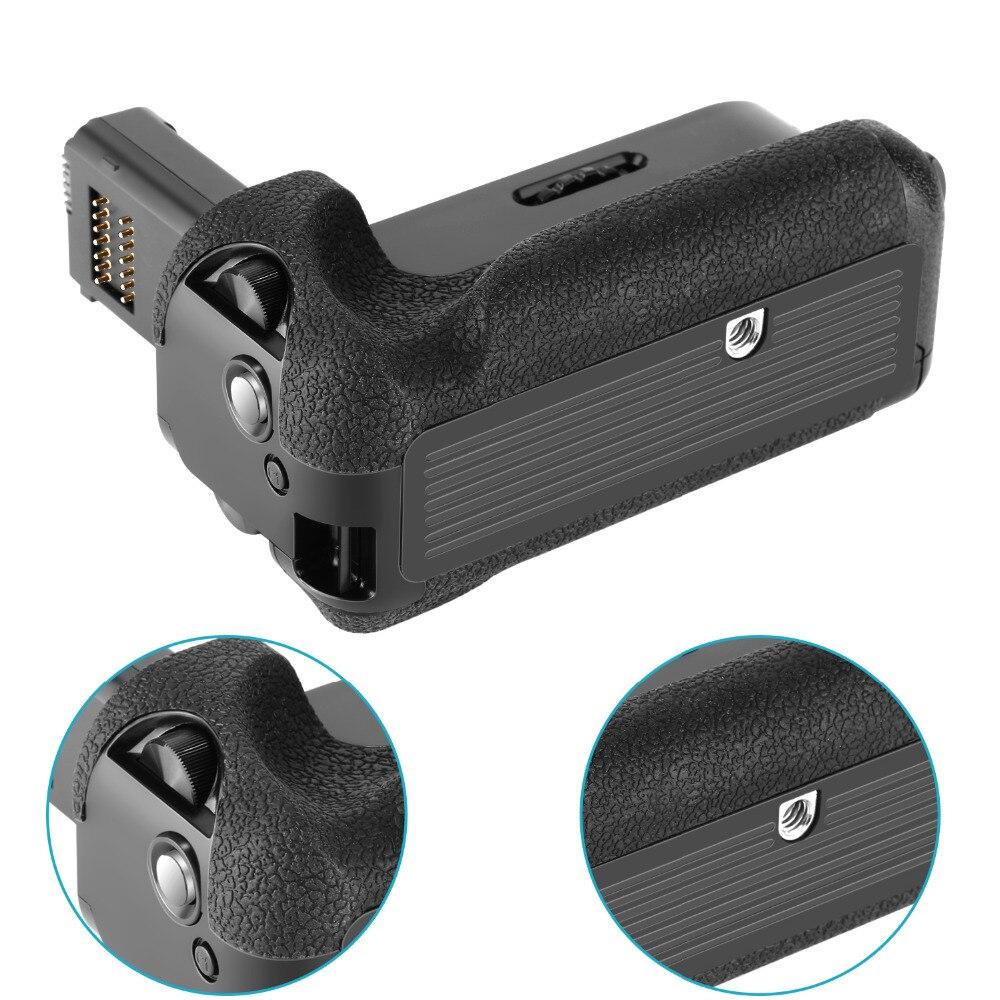 Neewer poignée de batterie verticale (remplacement pour VG-C1EM) pour Sony Alpha A7 A7R A7S DSLR appareils photo compatibles avec la batterie de NP-FW50 - 6