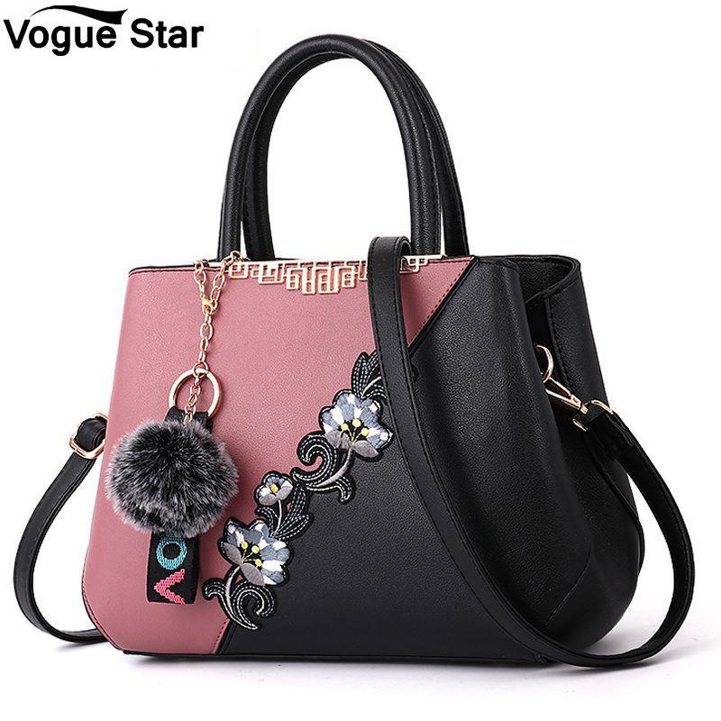 2018 Spring New Handbags Simple European Style Fashion Explosion Temperament Shoulder Bag Top-Handle Handbag Casual Tote M109 m109