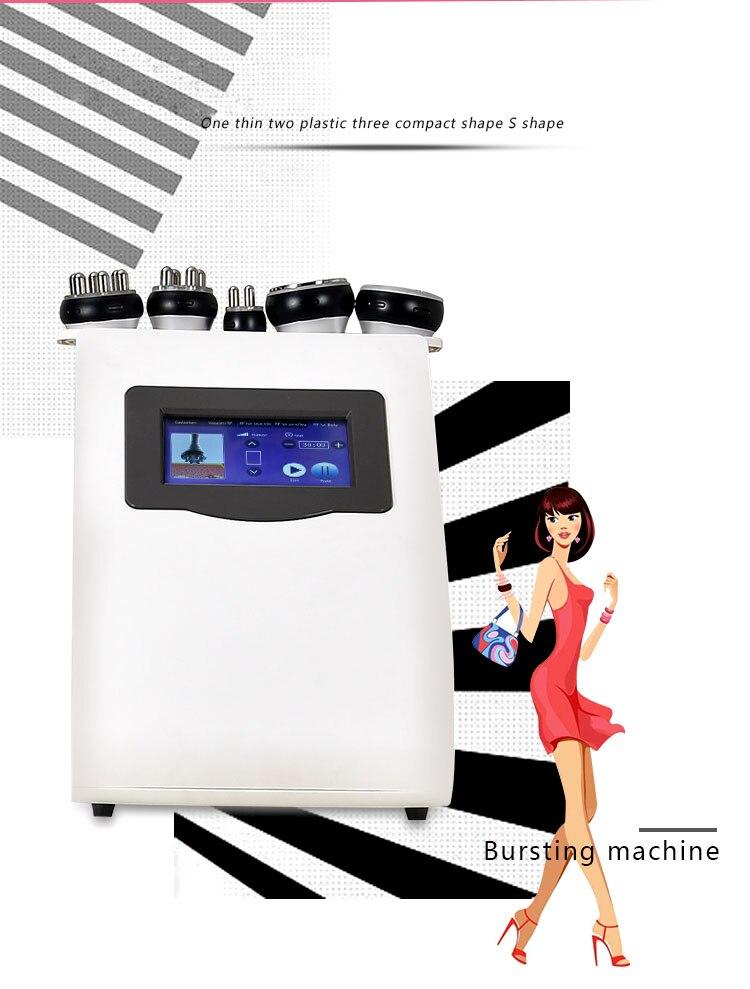 Pro 40K kawitacji ultradźwiękowy usuwanie cellulitu RF Lifting skóry do pielęgnacji ciała waga Loos wielobiegunowy próżniowe maszyna wyszczuplająca do ciała