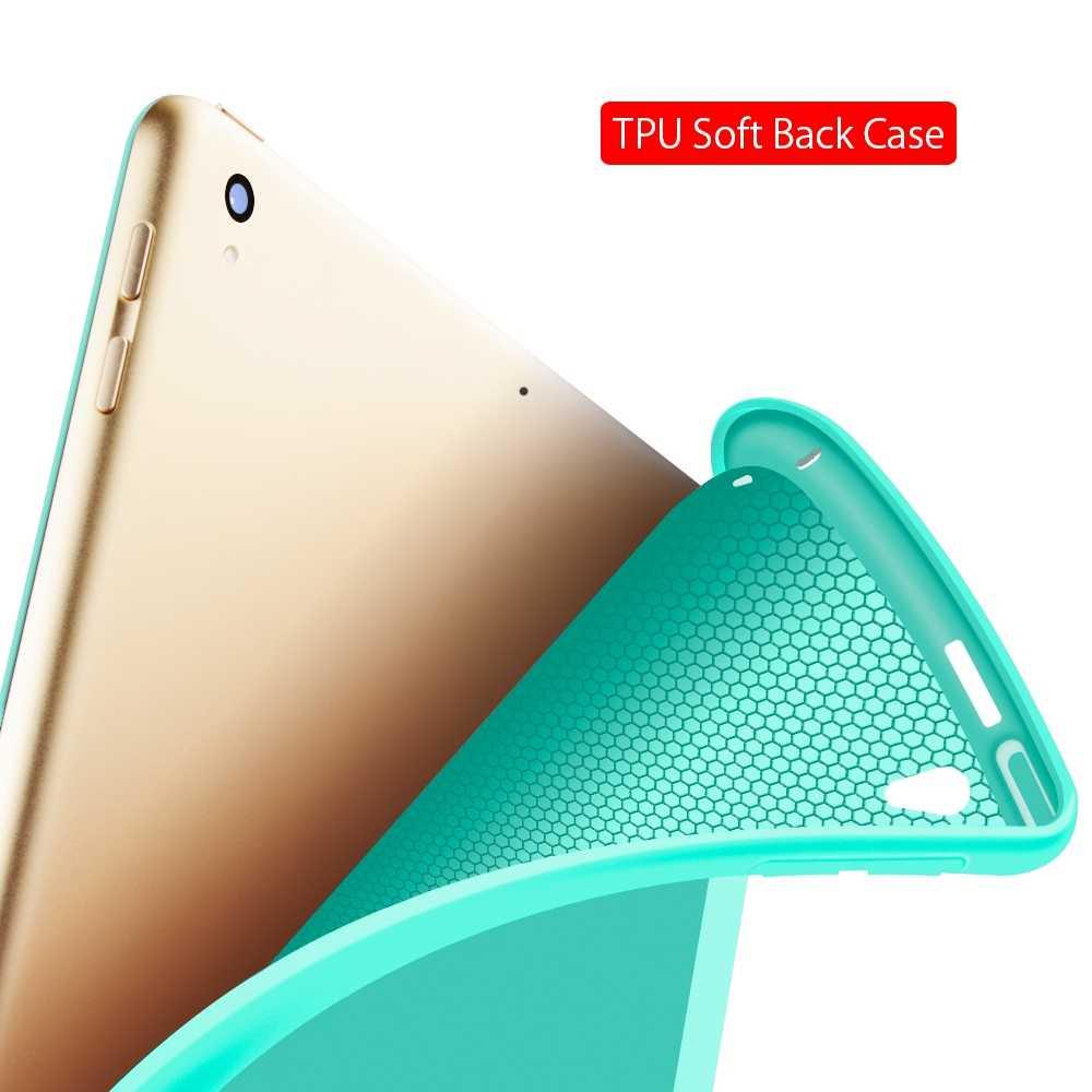 حافظة لجهاز iPad Pro 9.7 من السيليكون بولي يوريثان جوجودوك الناعم غطاء ذكي لجهاز أي باد برو من أبل 9.7 بوصة حافظة فوندا 2016 A1673/A1674/A1675