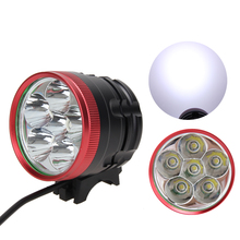 8500LM Bicycle Front Light T6 LED Bicycle Light Bike Lamp Waterproof Headlamp Headlights for Fishing Cycling 7 Modes