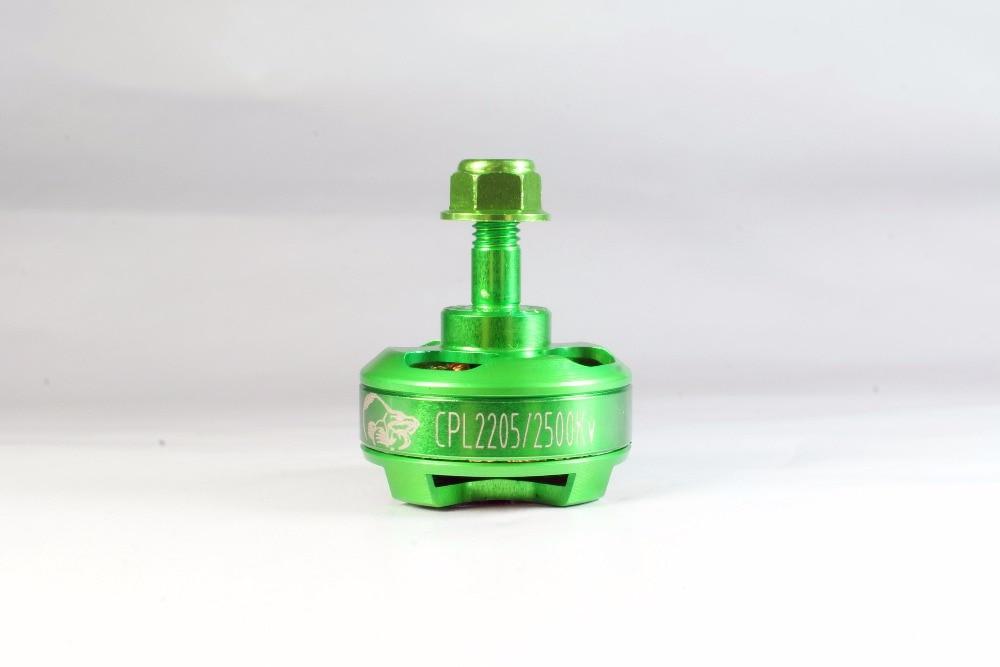 Green Cobra Motor CPL2205-2500DP,Kv=2500, 4pcs/Pack  Brushless Motor for Mini Drone Racing, Mini quad racing,free Shipping cobra ru 775ct