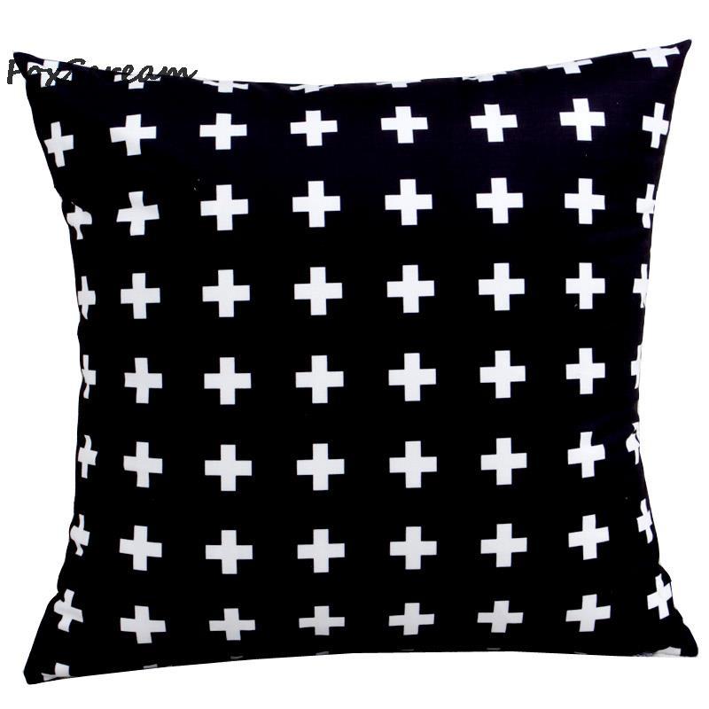 Scandinavian style Decorative Throw Pillows Yellow geometric Cushions Home Decor American modern pattern Decorative Pillow
