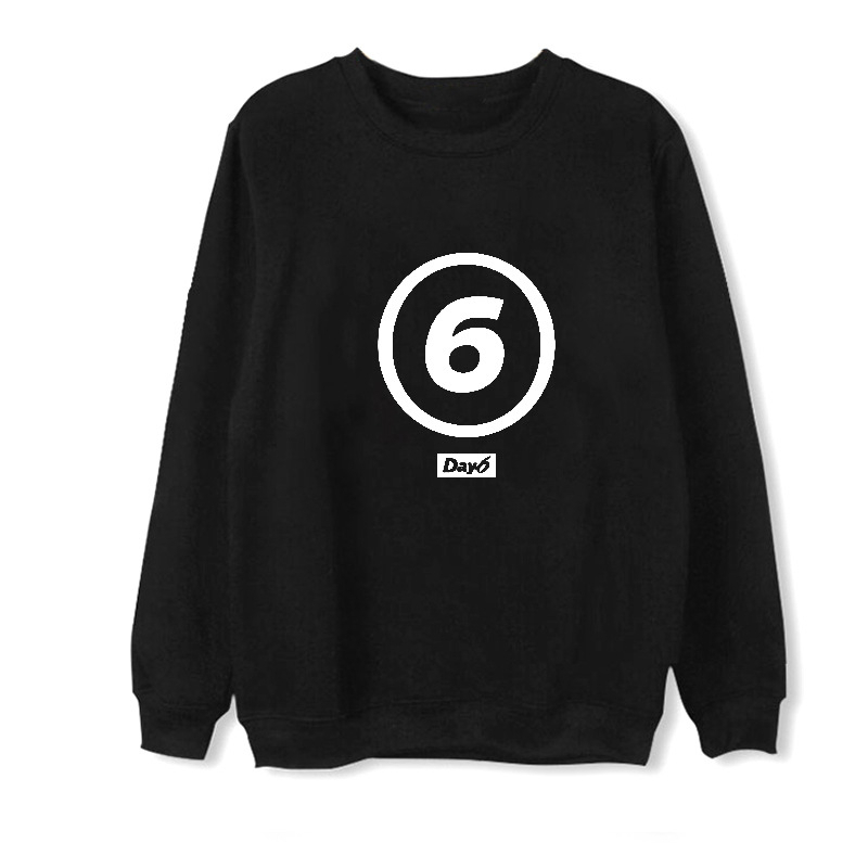 ALIPOP Kpop Day6 Album Fleece Hoodie K-POP Casual Cotton Hoodies Clothes Pullover Printed Long Sleeve Sweatshirts WY479