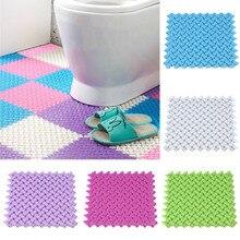 DIY ковер ярких цветов, пластиковые коврики для ванной, Легкий Массажный ковер для ванной комнаты, кухонный дверной коврик для пола, ковер для туалета, нескользящий#40