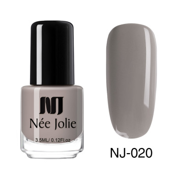 Coffee Gray Red Series Nail Art Polish Beauty & Skin Care Nail Art Color: 3.5ml NJ020